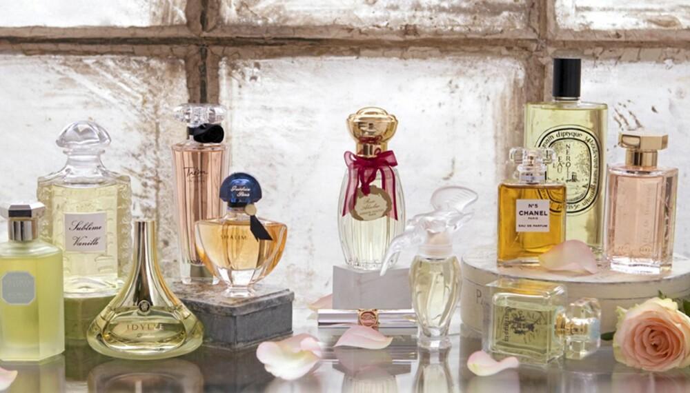 PARFYMEGUIDE: Finn den perfekte parfyme for deg med denne guiden.