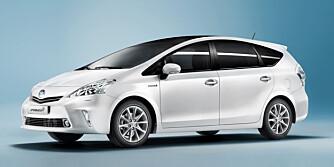 STØRRE HYBRID: Prius Plus blir større enn den normale varianten. Her er konseptbilen som ble vist fram på Genève-utstillingen.