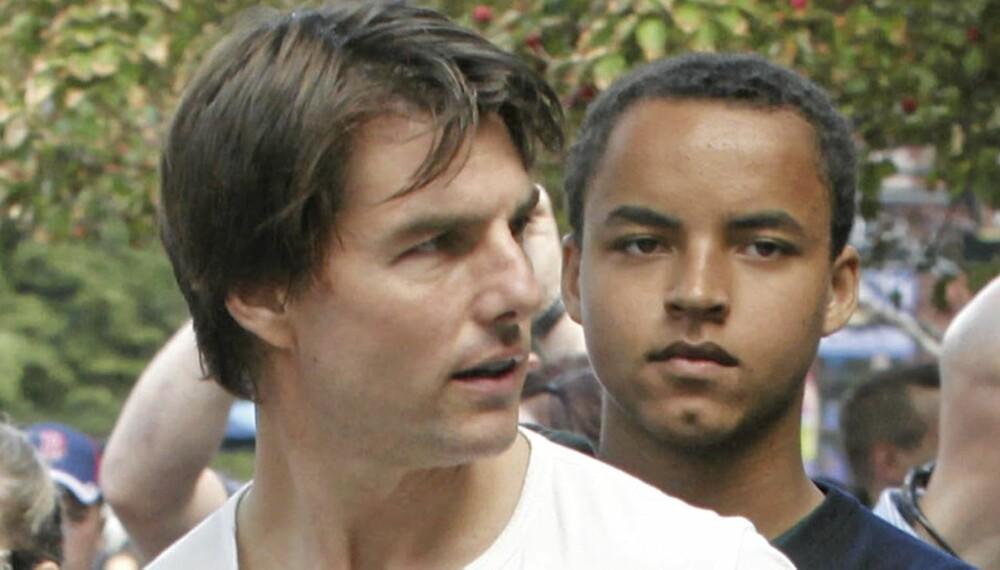 ANSTRENGT FORHOLD: Connor har alltid hatt et forknytt forhold til sin strenge far Tom Cruise. Nå ønsker han å være mer selvstendig.