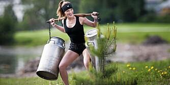 MODELL I MAGEN: Hvis du drømmer om å bli modell, og tør å ta utfordringer på strak arm, kan dette være konkurransen for deg.