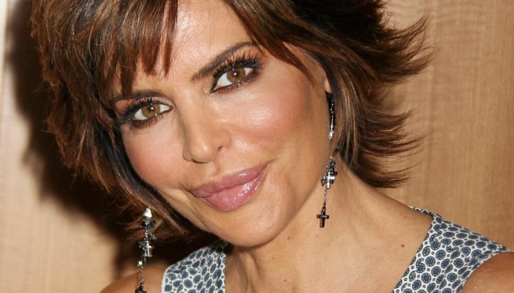 LISA RINNA: - Jeg er blitt helt avhengig av ansiktmasker laget av eggehvite, sier 48 år gamle Lisa Rinna.