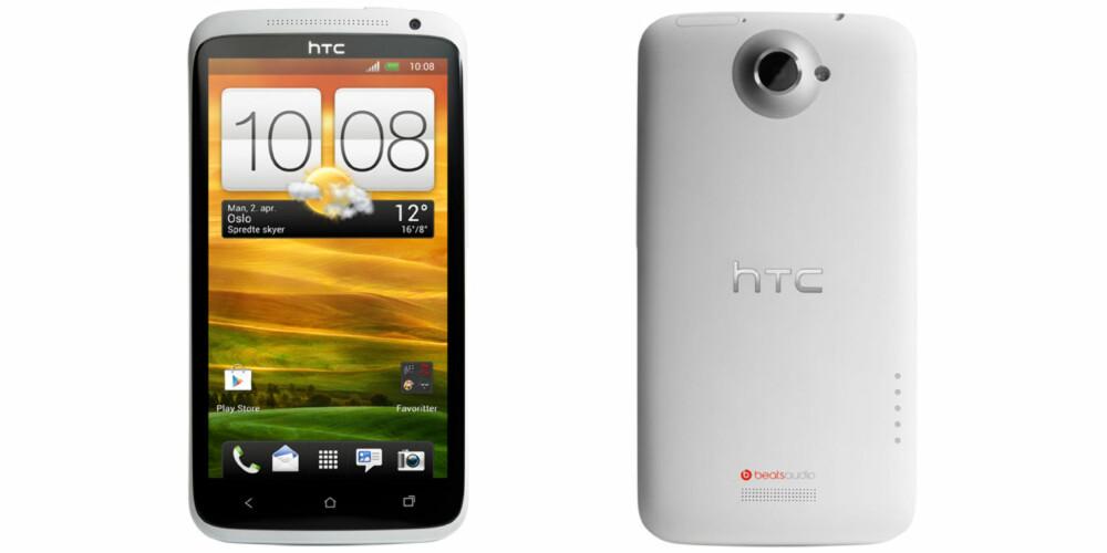 FIRE KJERNER: HTC One X har Nvidia-maskinvare og knallbra kamera.