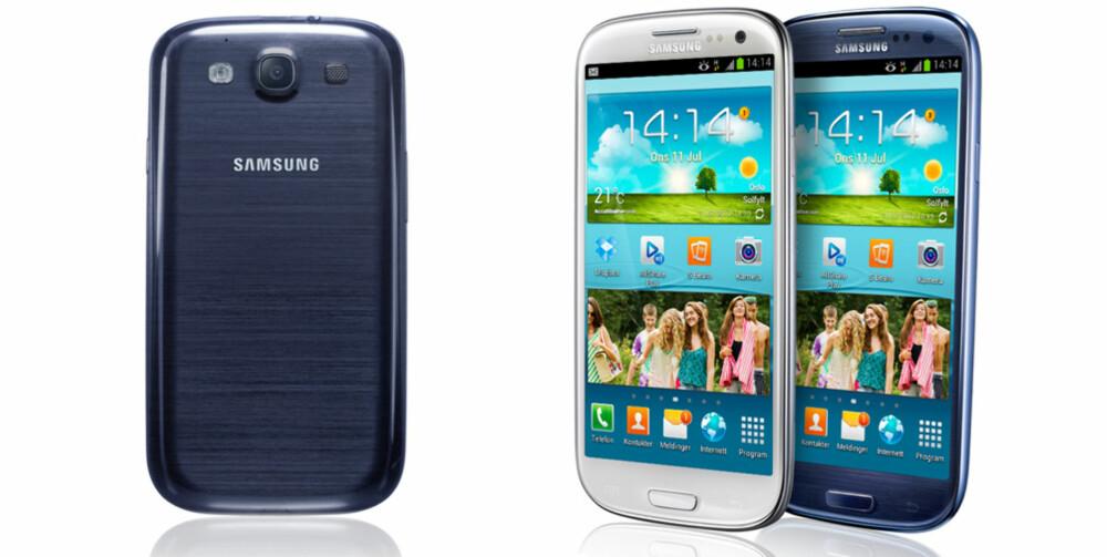 FLAGGSKIP: Samsung Galaxy S III er oppfølgeren til en av fjorårets beste mobiler.