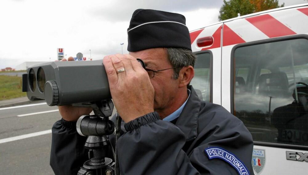 PASS PÅ: NAF sier at politiet ofte har kontroller noen kilometer før bomstasjonene.