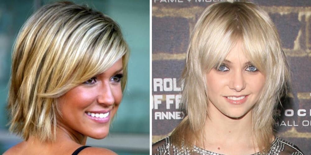 THE SHAG: Både Kristin Cavalleri, kjent fra MTVs reality serie The Hills, og Taylor Momsen fra Gossip Girl satser på denne populære klippen.