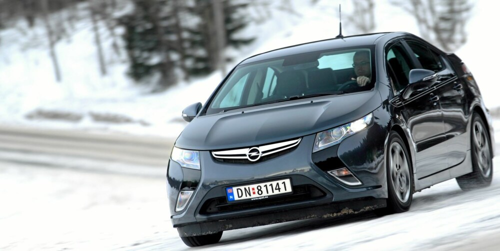 MILJØVINNER: Drivlinjen i Opel Ampera vant prisen for beste miljømotor i årets utgave av International Engine of the Year Awards.