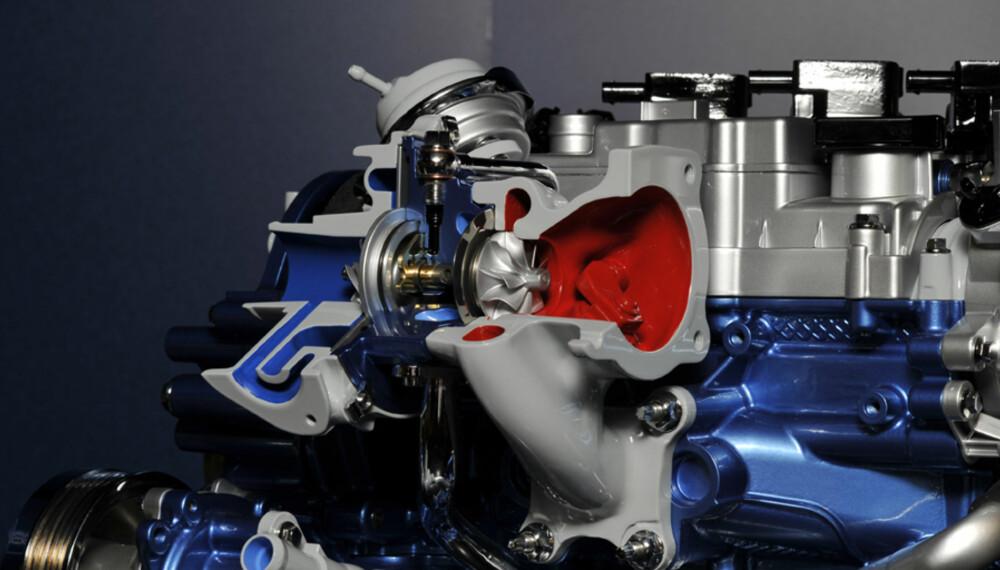ÅRETS MOTOR: Fords nye tresylindrede turbomotor på 999 kubikk vant prisen for årets nye motor.