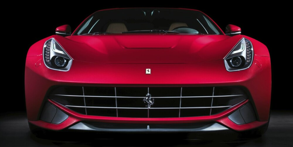 HEFTIG: Med 740 hestekrefter er dette den kraftigste Ferrari-gatebilen noensinne.