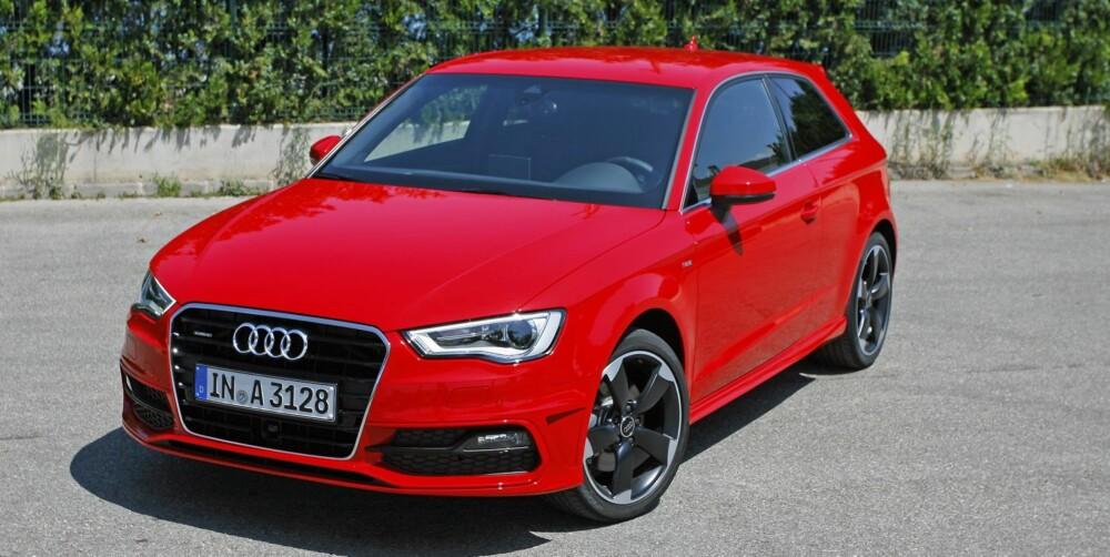 MED SYLINDERKUTT: Nye Audi A3 er en av de første bilene som leveres med motorer med sylinderkutt (1,4 TFSI 140 hk).