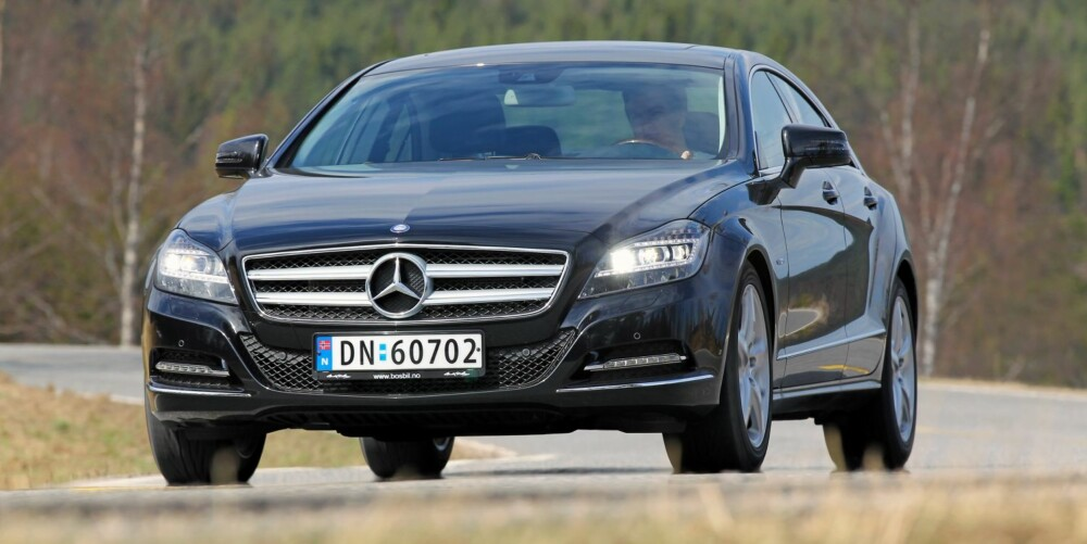 DYRT: Mercedes-Benz koster godt over en halv million kroner i snitt. FOTO: Terje Bjørnsen