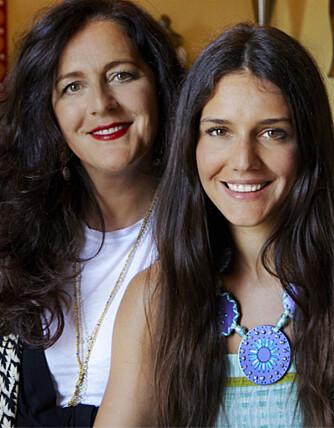 VIL BEKJEMPE BRYSTKREFT: Sammen med Lindex skal Missoni-familien støtte opp om Rosa Sløyfe aksjonen til høsten.