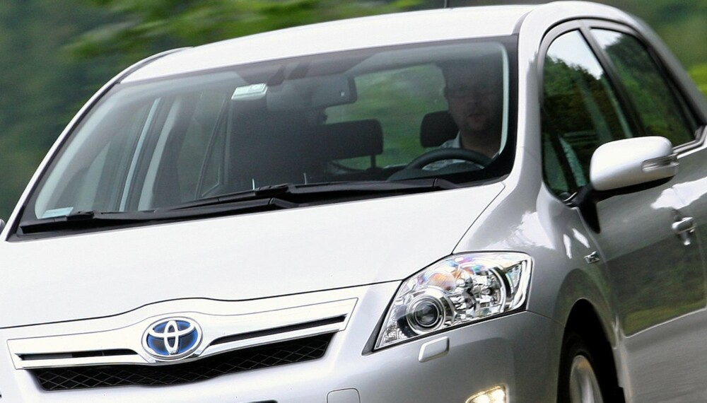UNDERSØKELSE: 66 prosent av Toyota-sjåførene mener trafikkegoismen har økt. Menn mellom 40 og 59 pekes ut som verstingene. Foto: Egil Nordlien, Hm Foto