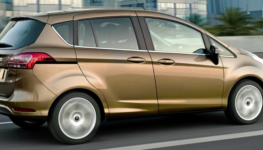 GUNSTIG: Prisene på Ford B-Max starter under 230 000 kroner. Foto: Ford