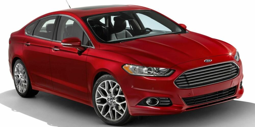 NY: Slik blir nye Ford Mondeo. Foto: Ford