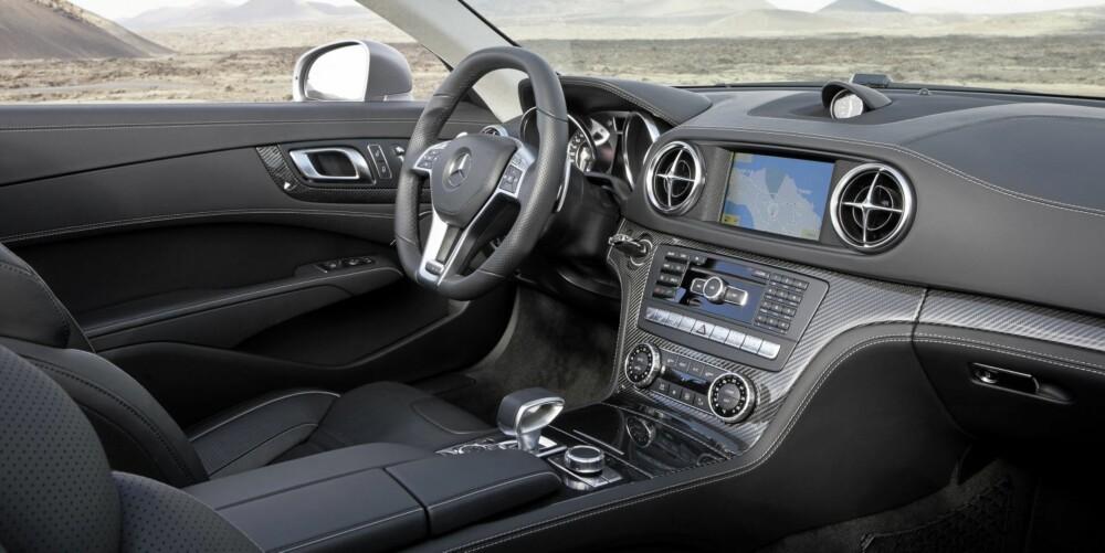 Her er det luksuriøst og komfortabelt. Foto: Daimler AG