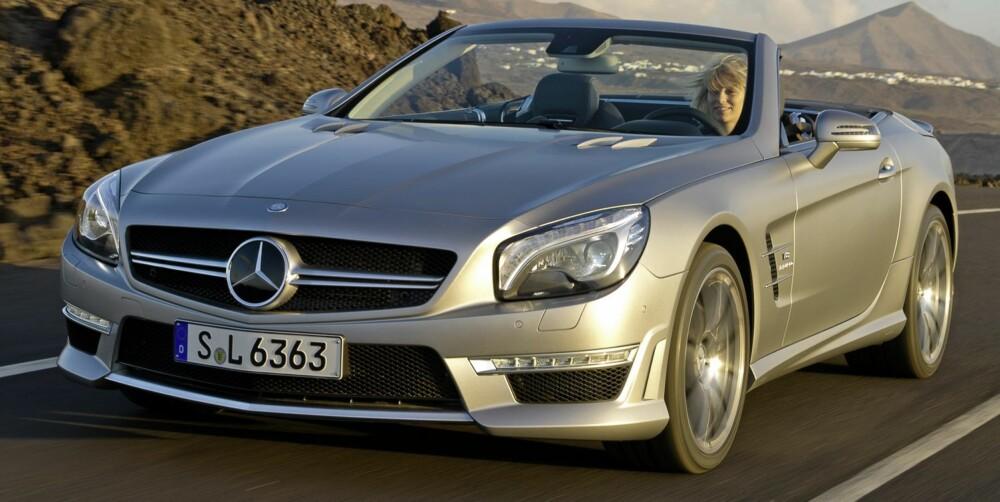 STERK: 563 hestekrefter. Faktisk. Foto: Daimler AG
