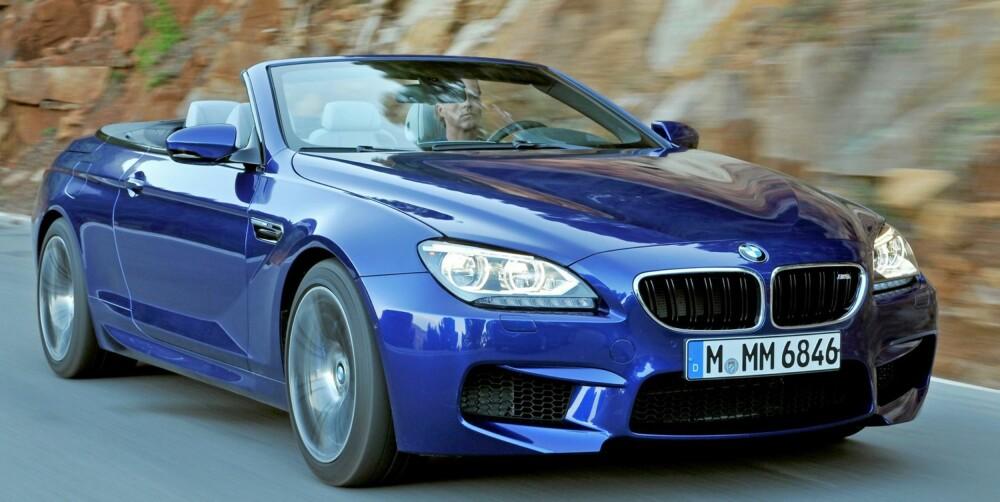 RIVALEN: BMW M6 Cab. Foto: BMW
