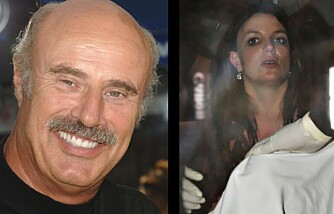 Dr. Phil McGraw og Britney Spears