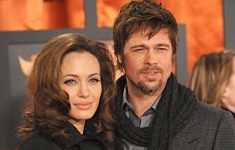 Brad Pitt og Angelina Joile