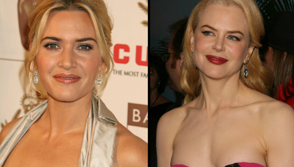Kate Winslet og Nicole Kidman