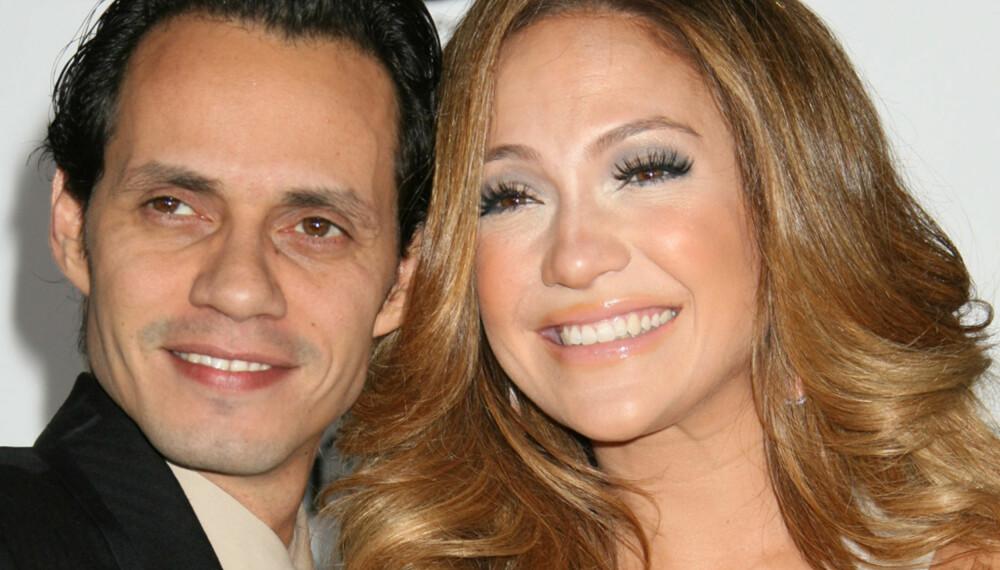 Marc Anthony og Jennifer Lopez