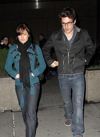 John Mayer og Minka Kelly