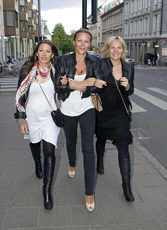 Pia Tjelta, Vanessa Rudjord og Janne Formoe