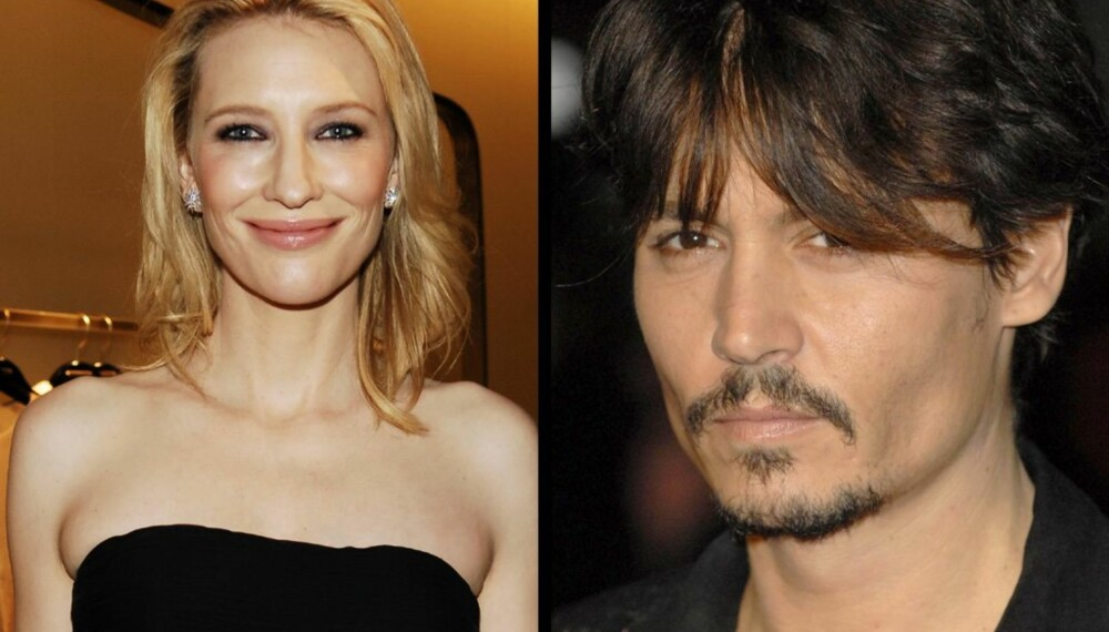 Cate Blanchett og Johnny Depp