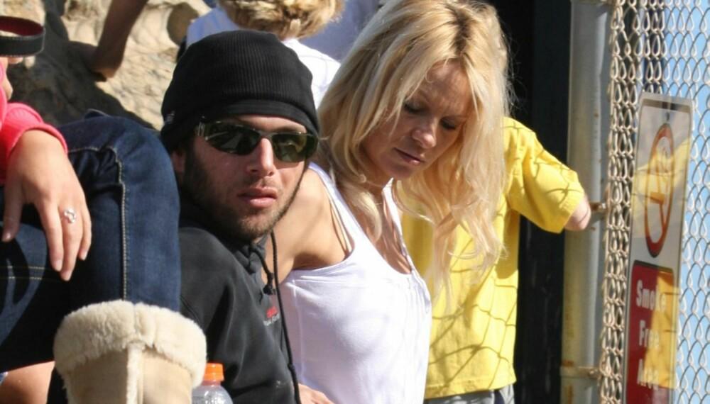 Pamela Anderson og Rick Salomon