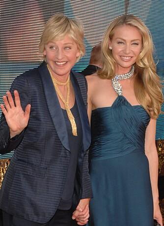 Ellen DeGeneres og Portia de Rossi