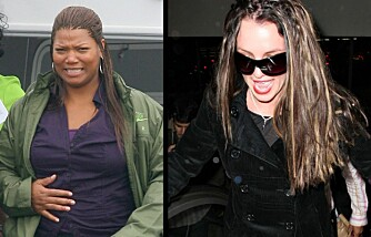 Queen Latifah og Britney Spears