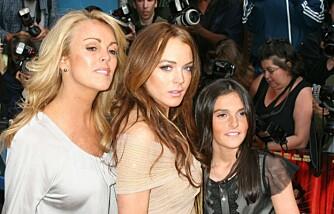 Dina, Lindsay og Ali Lohan
