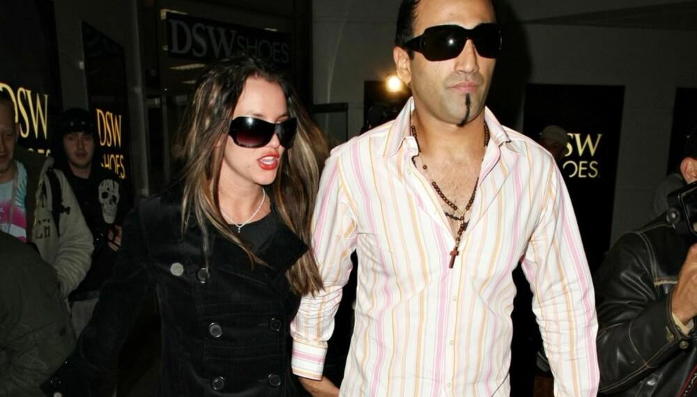 Britney Spears og Adnan Ghalib