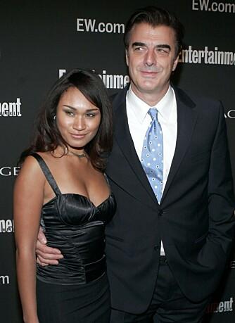 Chris Noth og kjæresten Tara Wilson