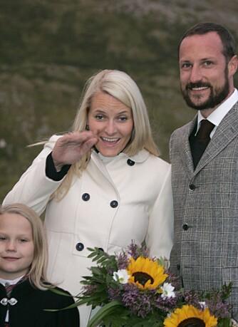 Mette-Marit og Haakon