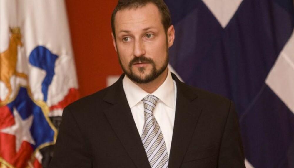 Kronprins Haakon i Chile