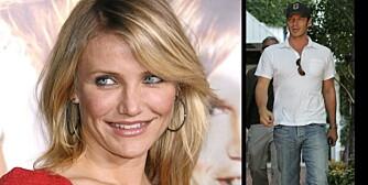 DATER HVERANDRES EKS: Cameron Diaz har kapret Jennifer Anistons ekskjæreste etter at Jen tok hennes.