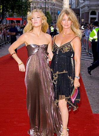 Kate Hudson og Goldie Hawn