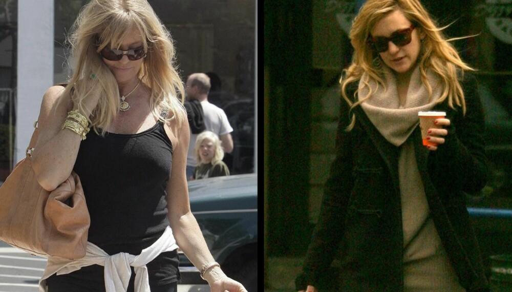 Goldie Hawn og Kate Hudson