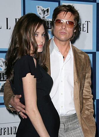 Angelina Jolie og Brad Pitt bekrefter graviditeten