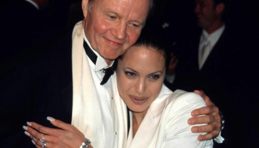 Jon Voight og Angelina Jolie i 2002
