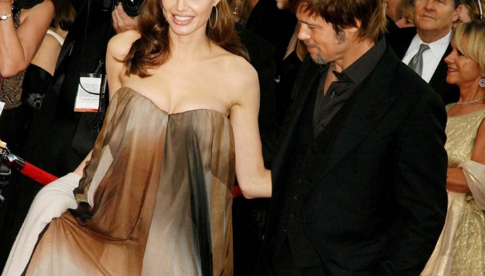 Angelina Jolie og Brad Pitt under SAG-awards