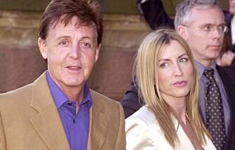 Paul McCartney og Heather Mills