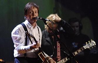 Paul McCartney under Brit Awards