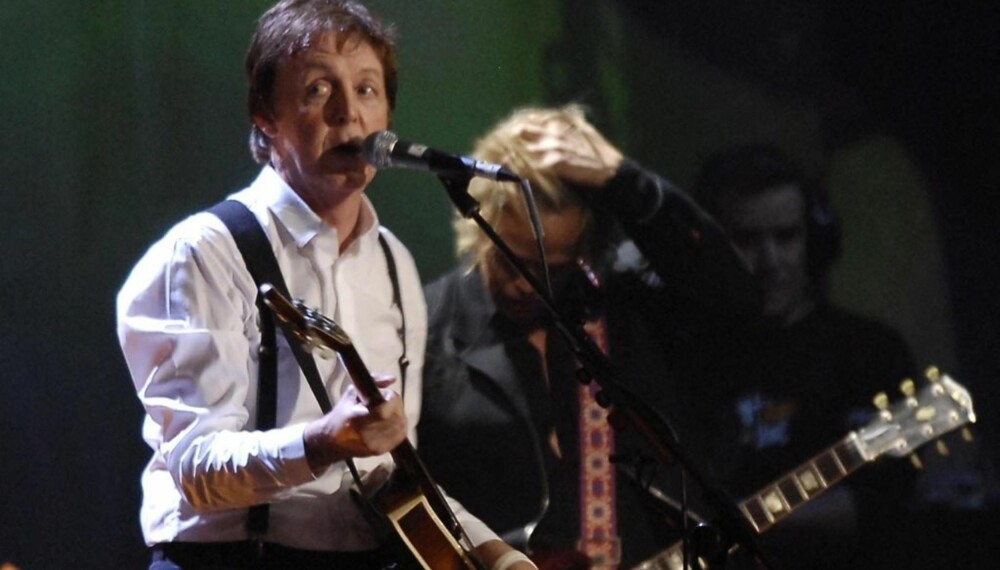 Paul McCartney under Brit Awards