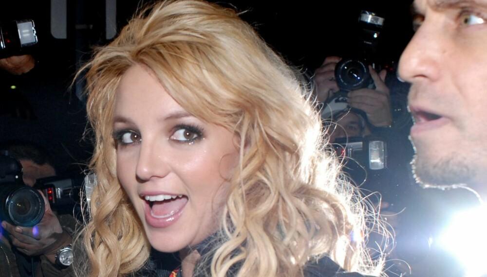 Britney Spears og Larry Rudolph