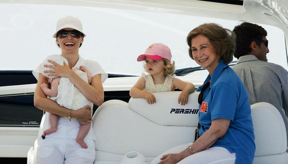 Spanias Sofia, Letizia, Leonor og lille Sofia