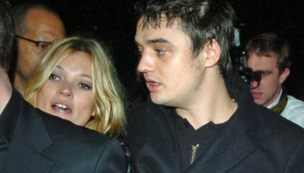 Pete Doherty og Kate Moss