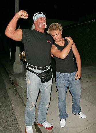 Hulk Hogan og sønnen Nick
