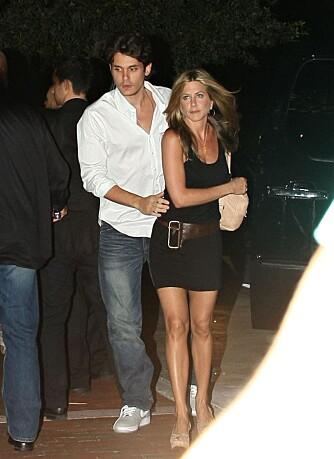 John Mayer og Jennifer Aniston